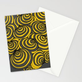 Circles Again and Agan Stationery Cards