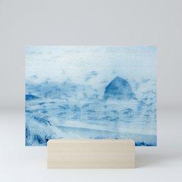 Haystack Double Exposure Mini Art Print