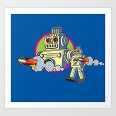 Robot 2.0 Art Print