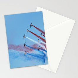 aircraft accuracy flight military Stationery Cards