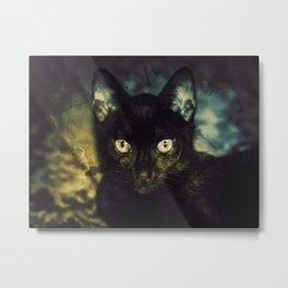 Guinevere the Cat Metal Print