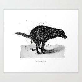 Wagter (Fido) Art Print