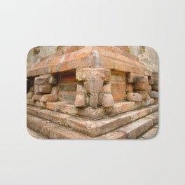 Stone Elephants Bath Mat