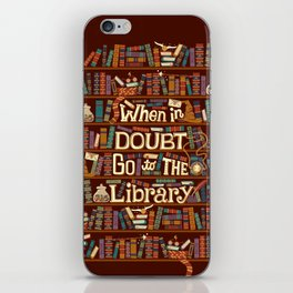 Go to the library iPhone Skin
