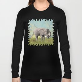 Monkeying Around the Trunk Long Sleeve T-shirt