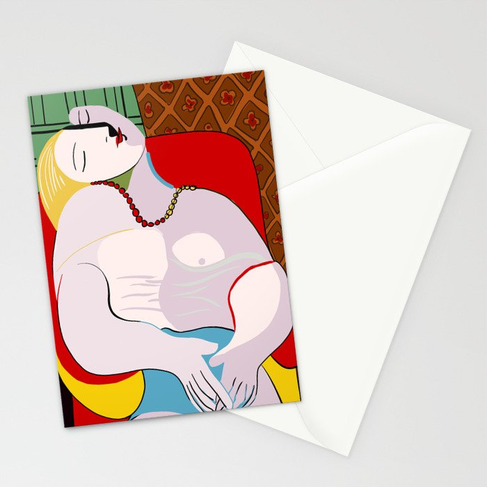 Picasso - The Dream Stationery Cards