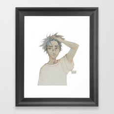 Like Lightning Framed Art Print