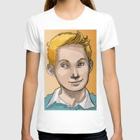 tintin T-shirts featuring Tintin by Zalazny
