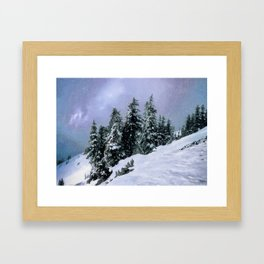 Hidden Peak Framed Art Print