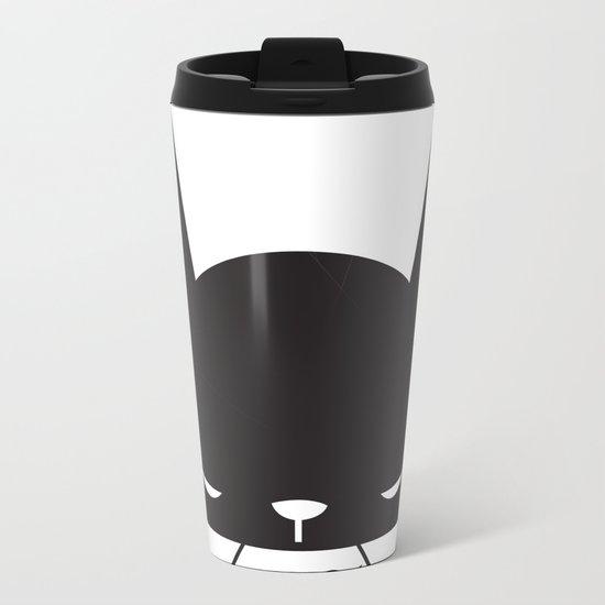 BLACK POND Metal Travel Mug