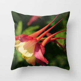 Flower - Hat of a Court Jester Throw Pillow