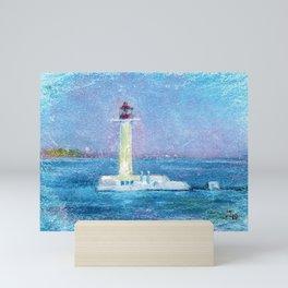 Lighthouse. Mini Art Print