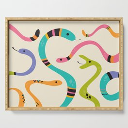 Snakes Serving Tray