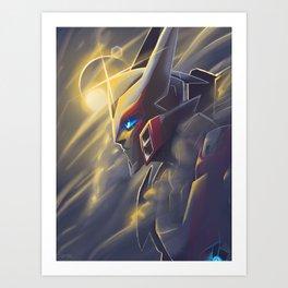 Drift in the Light Art Print