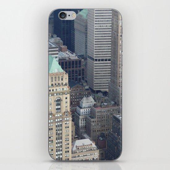 Manhattan Morning iPhone Skin