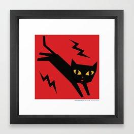 #30daysofcats 03/30 Framed Art Print