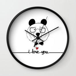 I love you Wall Clock