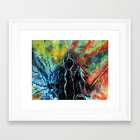 sith Framed Art Prints featuring Sith by MSG Imaging
