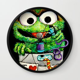 THE GROUCH Wall Clock