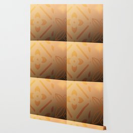 Burnt orange Wallpaper