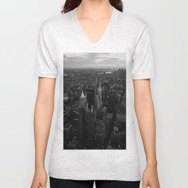 View from the Empire State Building Unisex V-Neck