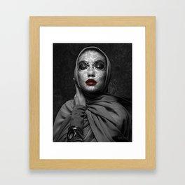 Gigi Hadid- Eye on the East Framed Art Print