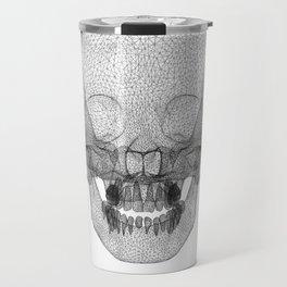 DELAUNAY SKULL w/b Travel Mug