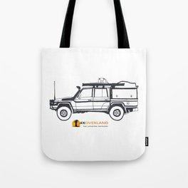 Land Cruiser Pick-up Tote Bag