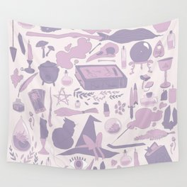 Soft Witch Wall Tapestry