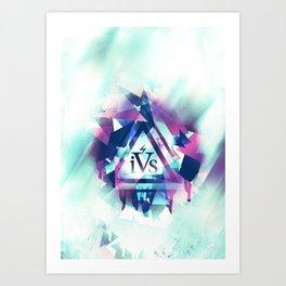 iPhone 4S Print - Broken Art Print
