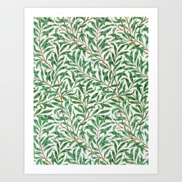 William Morris - Willow Bough - Digital Remastered Edition Art Print