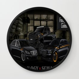 The Trilogy Wall Clock
