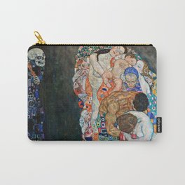 Gustav Klimt - Death And Life Carry-All Pouch