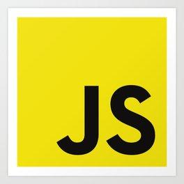 Javascript Art Print