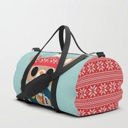Deer in a Sweater Duffle Bag