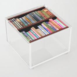 Vintage books ft Jane Austen & more Acrylic Box