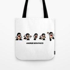 8-bit Andres 5 pose v1 Tote Bag