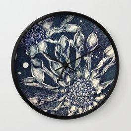 Blue Bell Tunicate Wall Clock