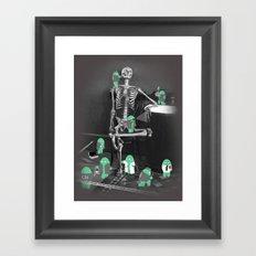 Crime Scene Investigation Framed Art Print