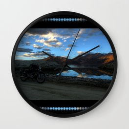 Pangong Blues! Wall Clock
