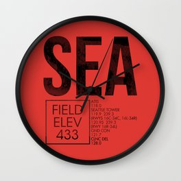SEA II Wall Clock