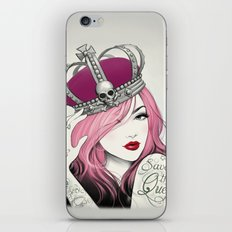 Save The Queen iPhone & iPod Skin
