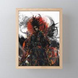 Samurai Musashi Framed Mini Art Print