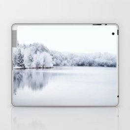 White Wonder Reflection Laptop & iPad Skin