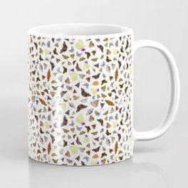 Real butterflies seamless pattern Coffee Mug