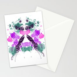 Personality Test: Purple Blot Stationery Cards
