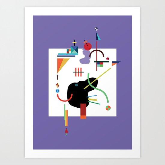 less sugar dear Art Print