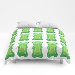 gummy bears green grape flavor Comforters