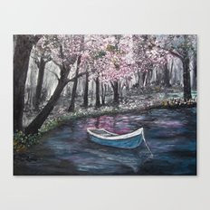 Drift Away -finished Canvas Print