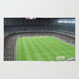 Camp Nou Crowded Rug